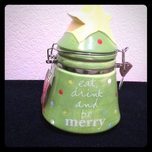 New Christmas Cookie Jar